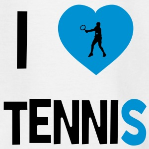 I Love Tennis Shirts - Teenage T-shirt