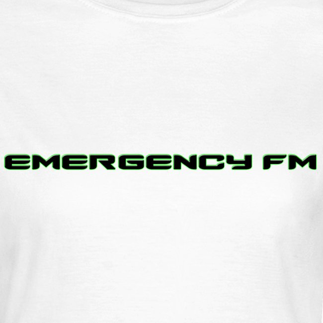 EmergencyFM Text Logo T-Shirt