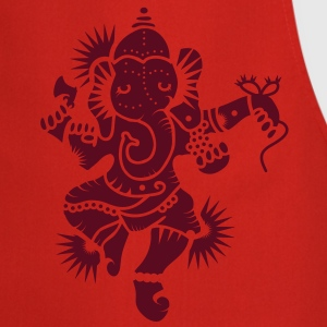 The elephant god Ganesha  Aprons - Cooking Apron