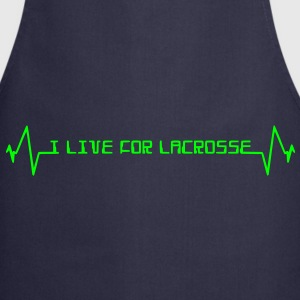I Live For Lacrosse  Aprons - Cooking Apron