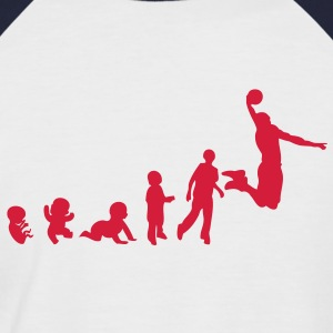 evolution basketball dunk4 Tee shirts - T-shirt baseball manches courtes Homme