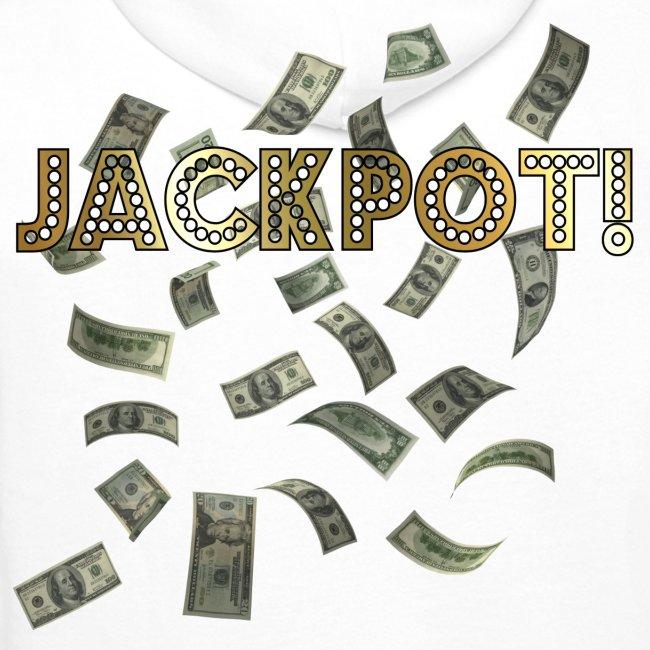 Jackpot! Huppari valkoinen