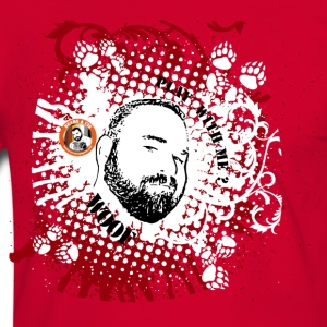 BEARS ET COMPAGNIE =play with me contour rouge Tee shirts - T-shirt contraste Homme
