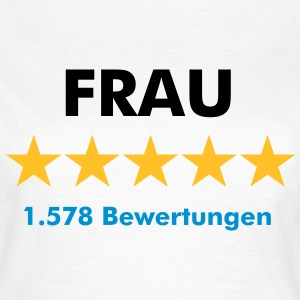 Frau Lady Girl - Frauen T-Shirt
