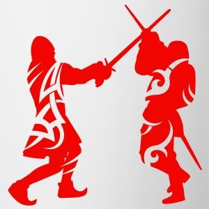 Sword fight tribal Mugs  - Tasse