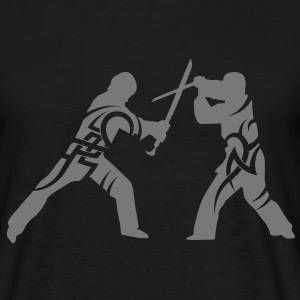 Sword fight tribal T-Shirts - Men's T-Shirt