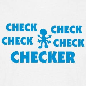 checker_mono_75 T-Shirts - Men's T-Shirt