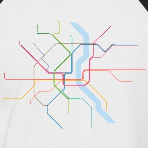 Subway Cologne - Männer Baseball-T-Shirt