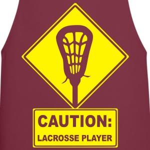 Caution: Lacrosse Player  Aprons - Cooking Apron