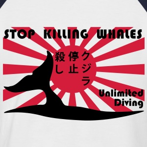 stopkillingwhales Tee shirts - T-shirt baseball manches courtes Homme