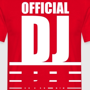 official_dj T-Shirts - Men's T-Shirt