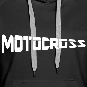 motocross Sweat-shirts - Sweat-shirt à capuche Premium pour femmes