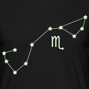 zodiac, constellation, scorpio T-Shirts - Men's T-Shirt