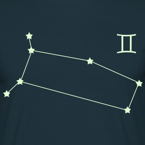 zodiac, constellation, Gemini T-Shirts - Men's T-Shirt