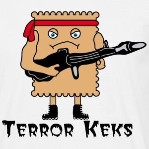 Terror Cookie T-Shirts - Men's T-Shirt