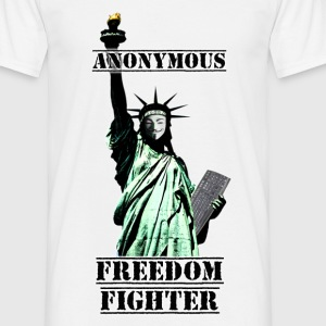Statue Anonymous - T-shirt Homme