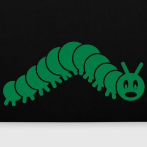 caterpillar worm snake hungry butterfly magot maggot grub crawler inchworm looper Bags  - Tote Bag