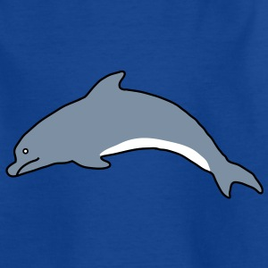 Delfin Kinder T-Shirts - Teenager T-Shirt