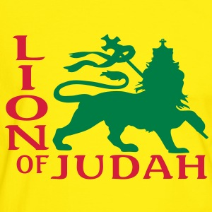lion of judah T-shirts - Mannen contrastshirt