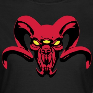 Demon with three eyes T-shirts - Dame-T-shirt