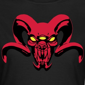 Demon with three eyes - Women's T-Shirt