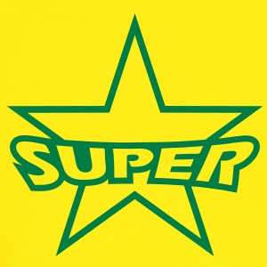 super_star T-Shirts - Männer Kontrast-T-Shirt