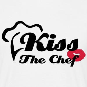 Kiss The Chef - T-Shirt - Maglietta da uomo