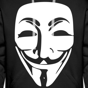 Anonymous Sweat-shirts - Sweat-shirt à capuche Premium pour hommes