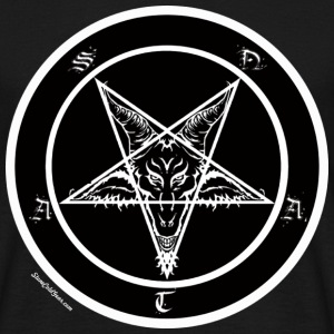 Sigil of Baphomet pentagram - T-shirt herr