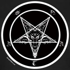 Sigil of Baphomet pentagram - T-shirt dam