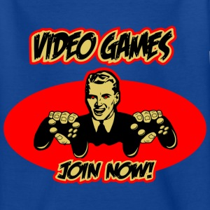Video Games - join now! Kinder T-Shirts - Teenager T-Shirt