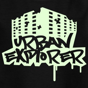 Urban Explorer  - 1color - glow in the dark - Teenager T-Shirt