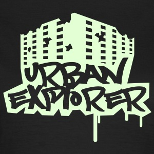 Urban Explorer  - 1color - glow in the dark - T-shirt Femme