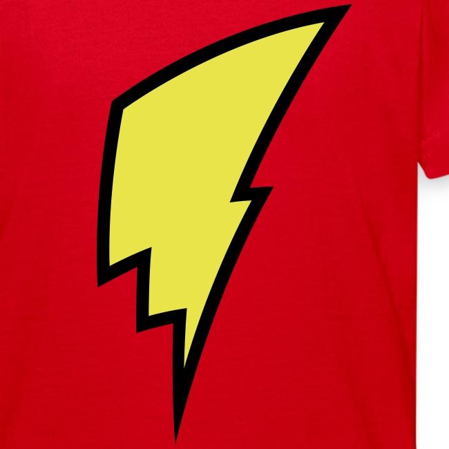 Lightning Bolt - Kid's Shirt