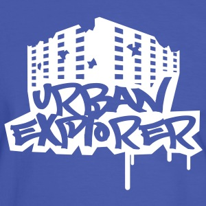 Urban Explorer  - 1color - Camiseta contraste hombre
