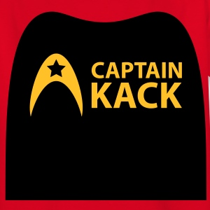 Captain Kack - Uniform - Raumschiff Kinder T-Shirts - Teenager T-Shirt