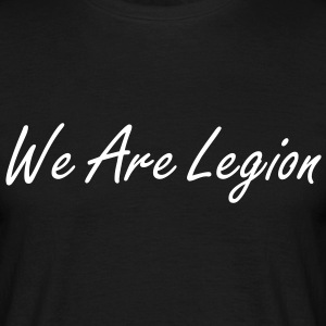 T-Shirt anonymous legion - T-shirt Homme