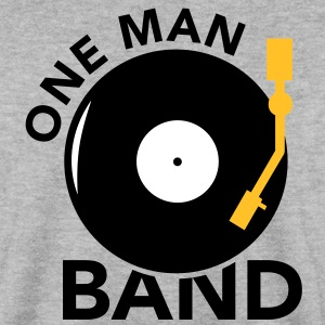 One  Man Band Turntable Pullover - Männer Pullover