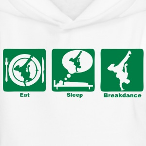 breakdance1 eat sleep play Sweats Enfants - Pull à capuche Premium Enfant