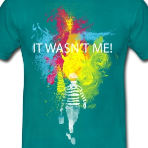 Diva blue it wasn't me! T-Shirts T-Shirts - Men's T-Shirt