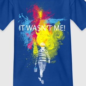it wasn't me Kinder T-Shirts - Teenager T-Shirt