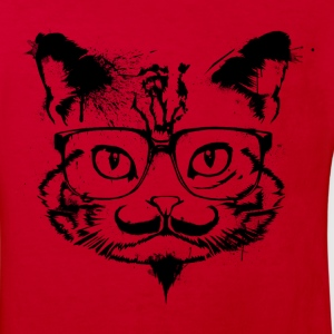 Hipster Cat - Shirt - Kids' Organic T-shirt