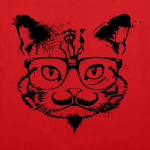 Hipster Cat - Tote Bag - Tote Bag