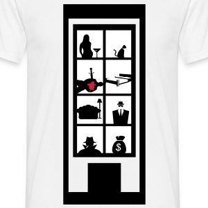 Crime Scene T-Shirts - Men's T-Shirt