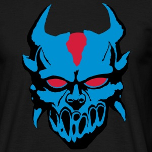 Demon with blue eyes Camisetas - Camiseta hombre