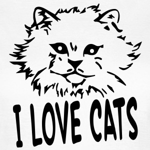 i_love_cats T-Shirts - Frauen T-Shirt