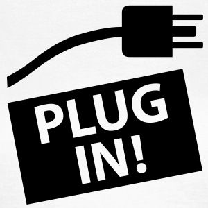 plug_in T-Shirts - Frauen T-Shirt