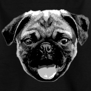 MOPS KOPF / MOPSKOPP | Kindershirt - Teenager T-Shirt