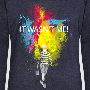 it wasn't me! Hoodies & Sweatshirts - Women's Boat Neck Long Sleeve Top