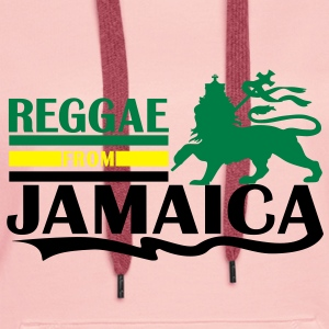 reggae from jamaica Hoodies & Sweatshirts - Women's Premium Hoodie